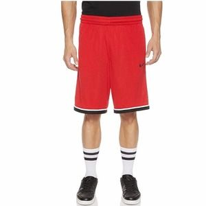 🏀 CLASSIC BASKETBALL SHORTS RED/BLACK NIKE